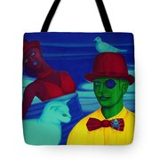 In The Theatre Of Time Tote Bag
