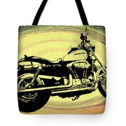 In The Vortex - Harley Davidson Tote Bag