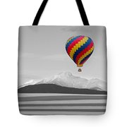 In Their Own World Colorado Ballooning Tote Bag