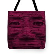 In Your Face In Hot Pink Tote Bag