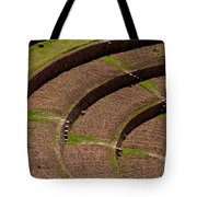 Inca Crop Terraces At Moray Tote Bag