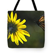 Incoming Monarch Tote Bag