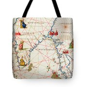 India And Malaysia Tote Bag by Battista Agnese