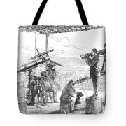 India Eclipse Expedition, 1872 Tote Bag by Science Source