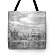 India: Golden Temple, 1858 Tote Bag