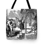 India: New Years Day, 1859 Tote Bag