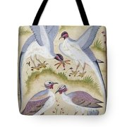 India: Pheasants Tote Bag