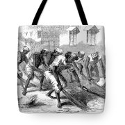 India: Street Sweepers Tote Bag