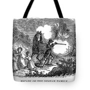 Indian Attack, 1697 Tote Bag