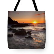 Indian Beach Sundown Tote Bag
