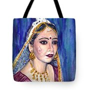 Indian Bride  Tote Bag