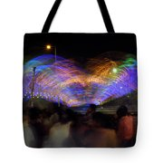 Indian Carnival Colorful Swing Tote Bag