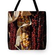 Indian Corn Tote Bag by Susan Herber