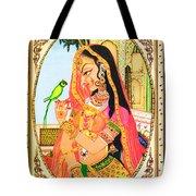 Indian Empress Tote Bag