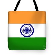 Indian Flag Tote Bag