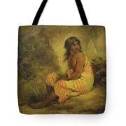 Indian Girl Tote Bag