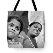 Indian Girls Tote Bag
