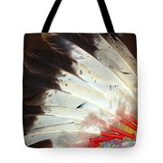 Native American War Bonnet Tote Bag