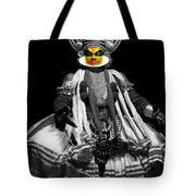 Indian Kathakali Dance Tote Bag