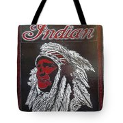 Indian Motorcycles Tote Bag
