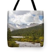 Indian Peaks Summer Day Tote Bag