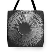Indian Pottery In Black And White Tote Bag