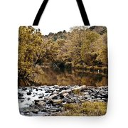 Indian Summer At Brandywine Creek Tote Bag