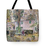 Indian Summer In Colonial Days Tote Bag by Childe Hassam