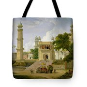 Indian Temple Tote Bag