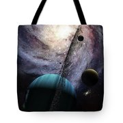 Indra, A Fast Spinning Gas Giant Tote Bag