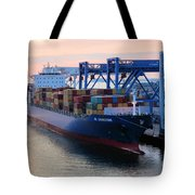Industrial Boston Tote Bag