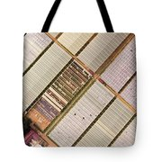Industrial Hot Houses On Tonde Bay Tote Bag