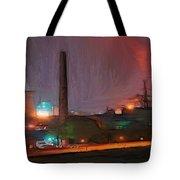Industrial Lights Tote Bag
