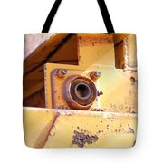 Industrial Yellow Tote Bag