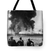 Industry: Oil Fire, C1902 Tote Bag