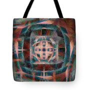Infinite Scrollwork Tote Bag by Christopher Gaston