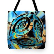 Infinity Time Cube Tote Bag