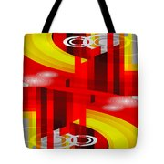 Information Superhighway Tote Bag