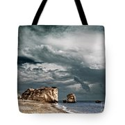 Infrared Aphrodite Rock Tote Bag
