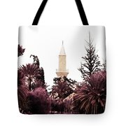 infrared Hala Sultan Tekke Tote Bag