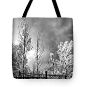 Infrared Summer Storm 2 Tote Bag