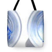 Ink In Glasses Of Water Tote Bag