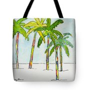 Inked Palms Tote Bag