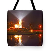 Inland Lighthouse In Indiana Tote Bag