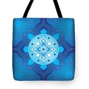 Inner Guidance - Blue Version Tote Bag