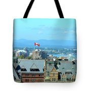 Inner Harbour As Seen  Via Marriot Window Tote Bag