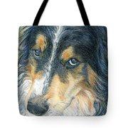 Innocent Eyes Tote Bag by Karen Curley
