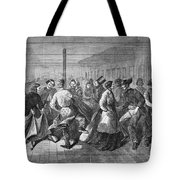 Insane Asylum: Dance Tote Bag