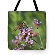 Insect And Flower Tote Bag