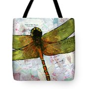 Insect Art - Voice Of The Heart Tote Bag